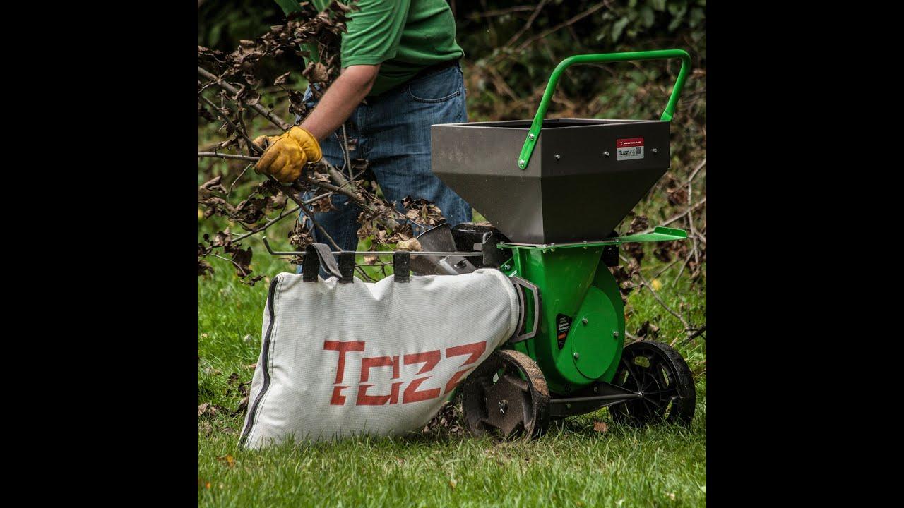 Tazz Chipper Shredder with 212cc Viper Engine