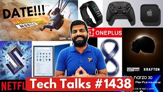 Tech Talks#1438-Battlegrounds India Launch Date Leak、NARZO 30、Apple Console、Poco F3 GT、PS5