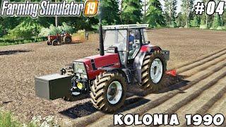 Cultivation Fields, Planting Corn And Potatoes | Kolonia 1990 | Farming Simulator 19 | Timelapse #04