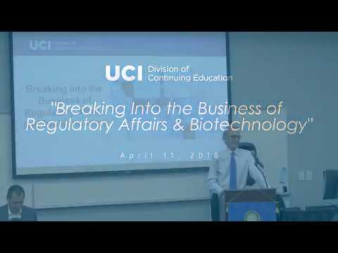 Breaking Into the Business of Regulatory Affairs & Biotechnology ...