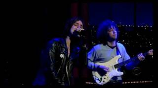 The Strokes - Heart In A Cage (on Letterman)