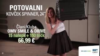 OMV akcija: Zbirajte nalepke in potujte s stilom – s potovalnim kovčkom Spinner (Slovenski)