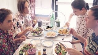 Garance Doré: Pardon My FrenchLunch At Miss Lily's