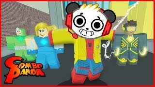 ROBLOX Heroes of Robloxia Let's Play with Combo Panda