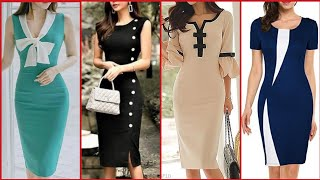 Gorgeous Fabulous And Elegant Stylish Bodycon /Sheath Dresses //Midi /Knee Length Dresses