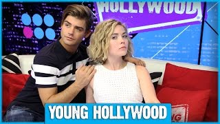 Grace Phipps & Garrett Clayton Teach Fans TEEN BEACH 2 Dance Moves! PART 2