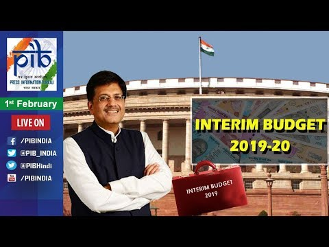 Union Finance Minister Piyush Goyal to Present Interim Budget 2019
