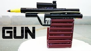 How to Make a Toy Gun using Sketch Pen