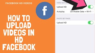 How to upload HD 4K/1080p  videos to Facebook 2019