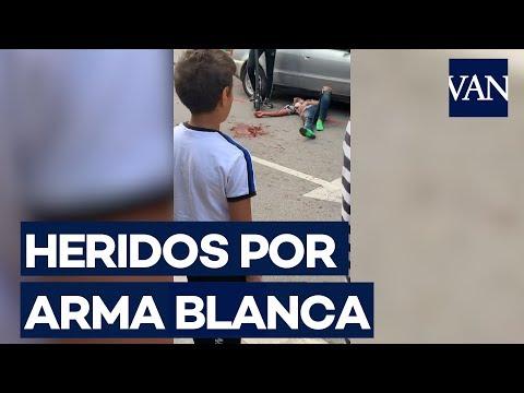 Tres heridos por arma blanca en Canovelles (Barcelona)
