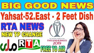 RTA HD channel free to air all matches of ICC CRICKET WORLD CUP 2019