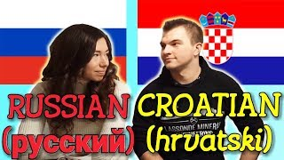 Language Challenge: How Similar are Russian and Croatian?