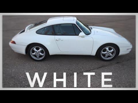 """Porsche 993 Carrera Coupe weiss """"LUFTGEKÜHLT"""""""
