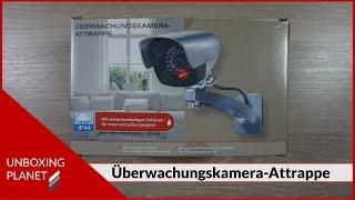 Gute Überwachungskamera-Attrappe - Unboxing Video