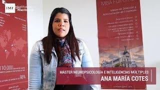 Opinion Master Neuropsicología: Ana Cotes
