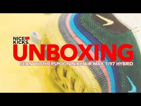 22512b9ff6 NIKE AIR MAX 1/97 SW SEAN WOTHERSPOON UNBOXING & REVIEW + HAPPY AIR ...
