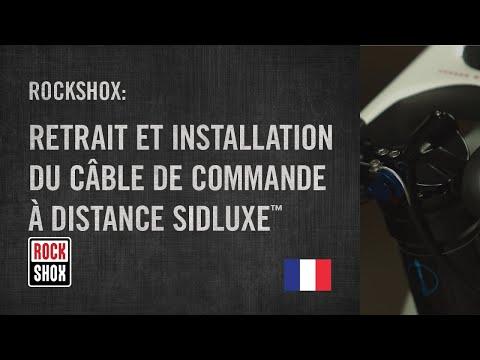 Retrait et Installation du Câble de Commande à Distance SIDLuxe™