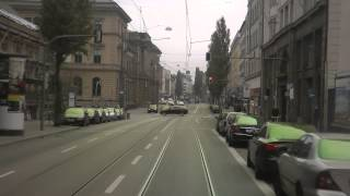 preview picture of video 'Straßenbahn München linia 18'
