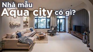 Có gì ở mẫu nhà biệt thự phố Valencia tại Aqua city - phong...