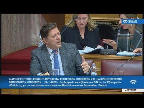 Tροπολογία για επιχειρηματική βίζα, κατέθεσε ο αναπληρωτής υπουργός Εξωτερικών, Μιλτ. Βαρβιτσιώτης