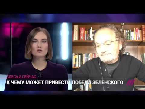 Savik Shuster live on the Russian liberal Rain TV channel