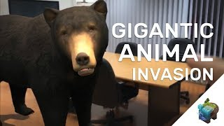 """GIGANTIC ANIMAL INVASION! ( Augmented Reality ) """" They are Everywhere"""" : Assemblr"""