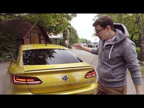 Volkswagen  Arteon Лифтбек класса E - тест-драйв 4