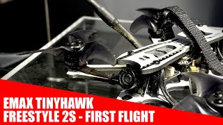 EMAX Tinyhawk Freestyle 2S FPV Bundle From - First Flight