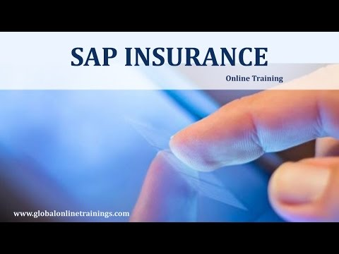 SAP Insurance Training Demo   sap for insurance online course ...