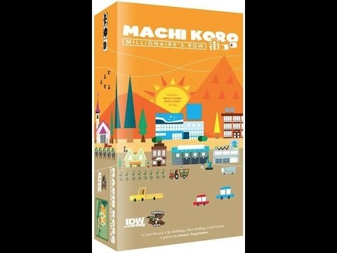 Board Game Brawl Reviews - Machi Koro: Millionaire's Row