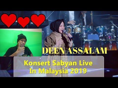 , title : 'CATHOLIC REACTION/Deen Assalam - Sabyan ( Live In Malaysia 2019 )'