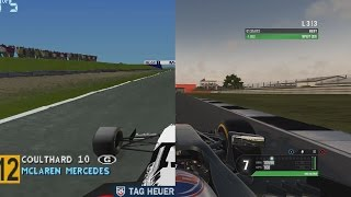 20 Years Of Formula 1 Games At Silverstone (1997   2016)