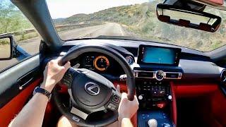 2022 Lexus IS 500 - POV Canyon Driving