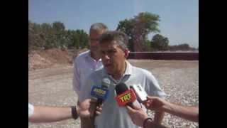 Ο κ. Κώστας Aαγοραστός για ε.ο. Καραβόπορος-Λυγαριά 11-7-2012