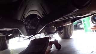 1987 Buick Grand National Project - Day 1 (undercarriage)