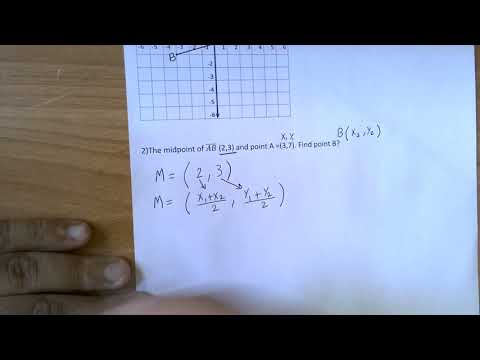 Finding midpoint