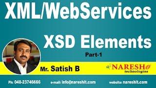 XSD Elements Part-1 | XML Tutorial | Mr. Satish B