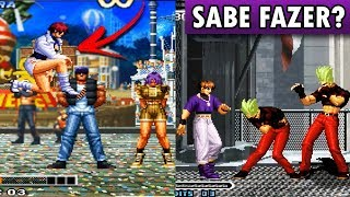 10 BUGS BIZARROS NO THE KING OF FIGHTERS | KOF da Depressão
