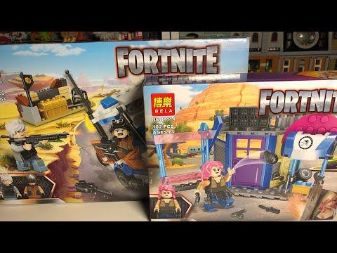 Конструктор Bl Fortnite «Защитная крепость: Бой в пустыне» 11125 / 190 деталей