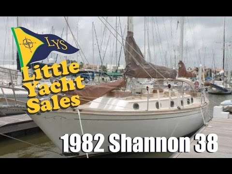 SOLD!!! 1982 Shannon 38 Sailboat for sale at Little Yacht Sales, Kemah Texas