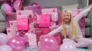 OLIVIAS 6TH BIRTHDAY MORNING OPENING PRESENTS