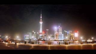 preview picture of video 'Shanghai Skyline at night'