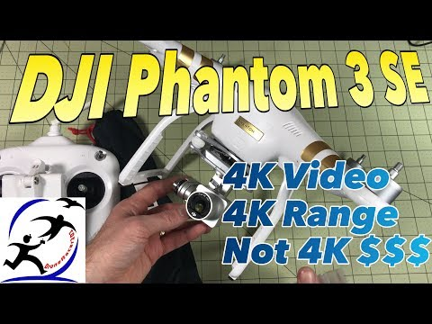 DJI Phantom 3 SE Unboxing and First Flights | A 4K resolution 4K range DJI Drone you can afford