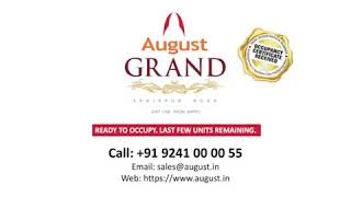 Top-End Amenities of New Luxury Apartments in Sarjapur Main Road | August G