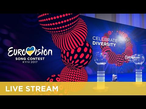Eurovision Song Contest 2017 - Semi-Final Allocation Draw