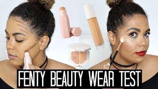 Fenty Beauty Wear Test! Foundation, Match Stix And Highlighter | Samantha Jane
