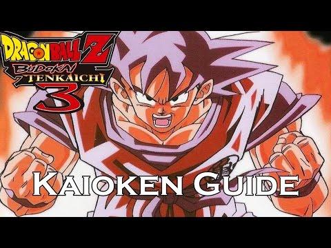 DBZ BT3: Kaioken Comprehensive Guide