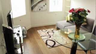 preview picture of video 'NEW: City Studio Serviced Apartments walkthrough tour - Boutique London Lets - The City, London'