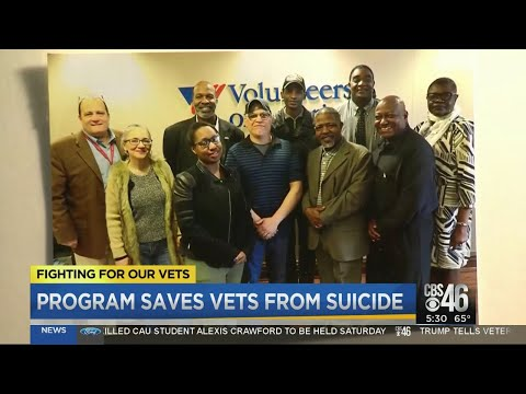 Program works to save vets from suicide