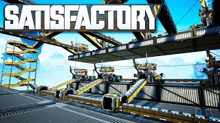 Processing All Of The Iron Plates in Satisfactory